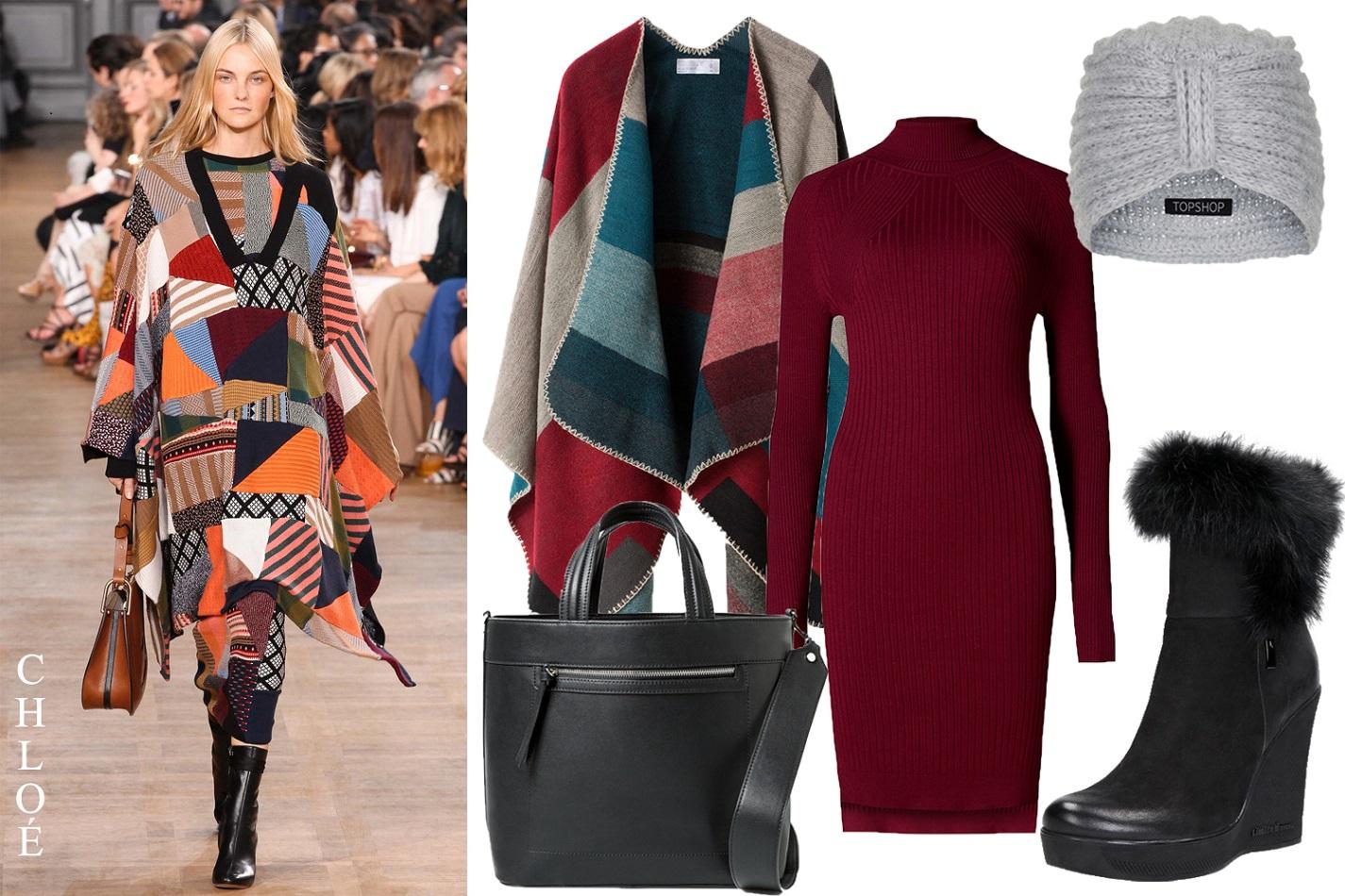 7e55fe55259d ... a zimy jsou 7 8 délky sukní a šatů. Oblečte si pod pončo třeba upnuté  úpletové rolákové šaty a elegantní podzimní outfit bude na světě 😉  Načerpejte ...