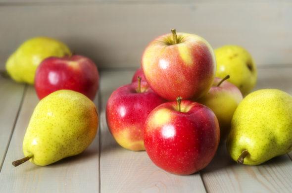 Podzimní mlsání: Jablko a hruška
