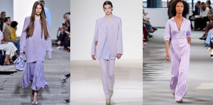 K vidění byla téměř na každé přehlídce světových návrhářů a plné jsou jí i  nové jarní kolekce. Trendy jsou levandulové šaty ce8843a9677