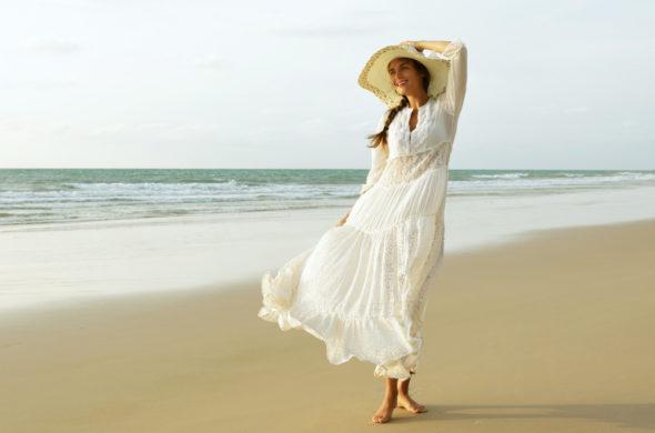 Šaty jako pro víly ovládly přehlídková mola