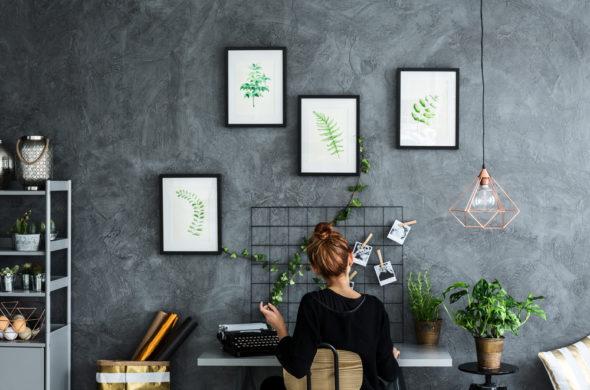 Go green – trend, který ovládl módu i hipster interiéry