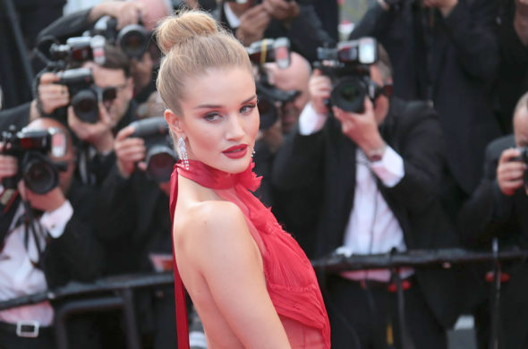 Get the look of Rosie Huntington-Whiteley